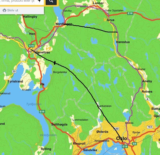 kart over hadeland Kart Over Hadeland | Kart