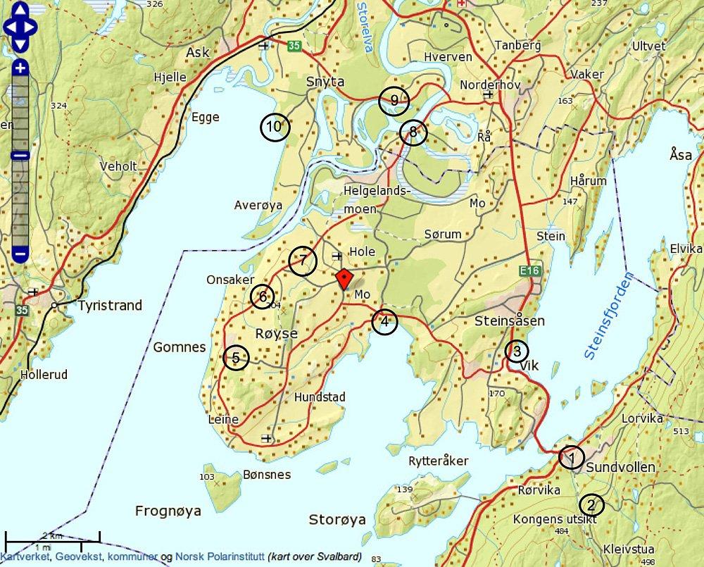 kart over øyeren Norsk Ornitologisk Forening   Ramsarkonvensjonens generalsekretær  kart over øyeren