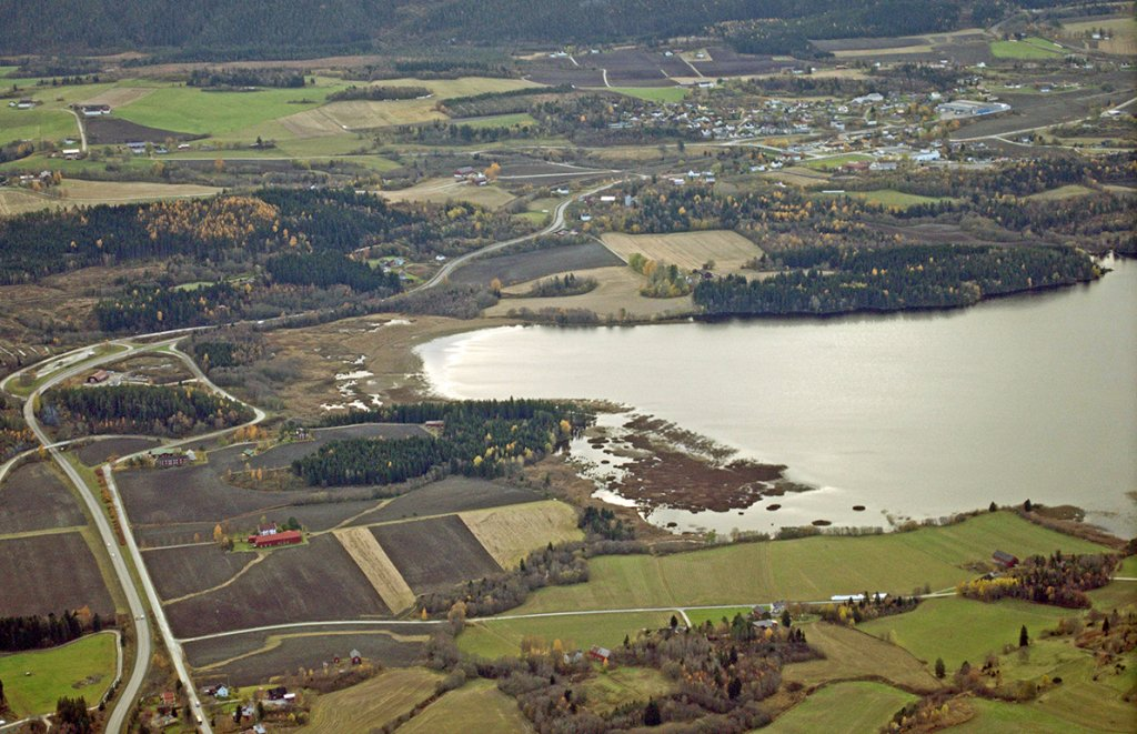 viktige fjorder og innsjøer i norge
